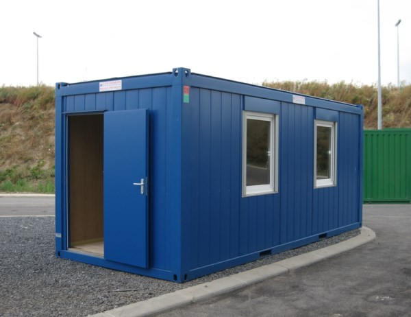Self assembly site offices 20ft cxo cabin office 5200 for Site office design