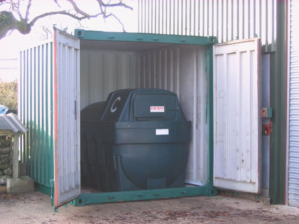 Shipping Containers 10 Foot Diesel Store 5ft To 10ft