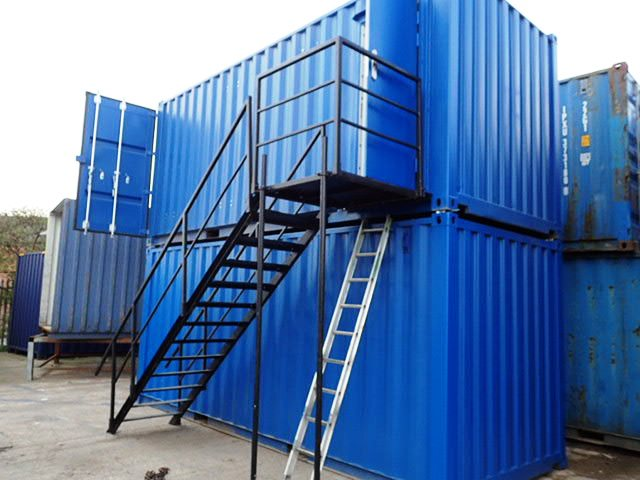 Container Conversion Case Studies 2 X 20ft Containers