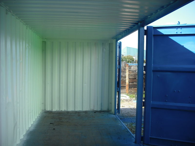 Shipping Containers Container Side Doors 20ft To 30ft