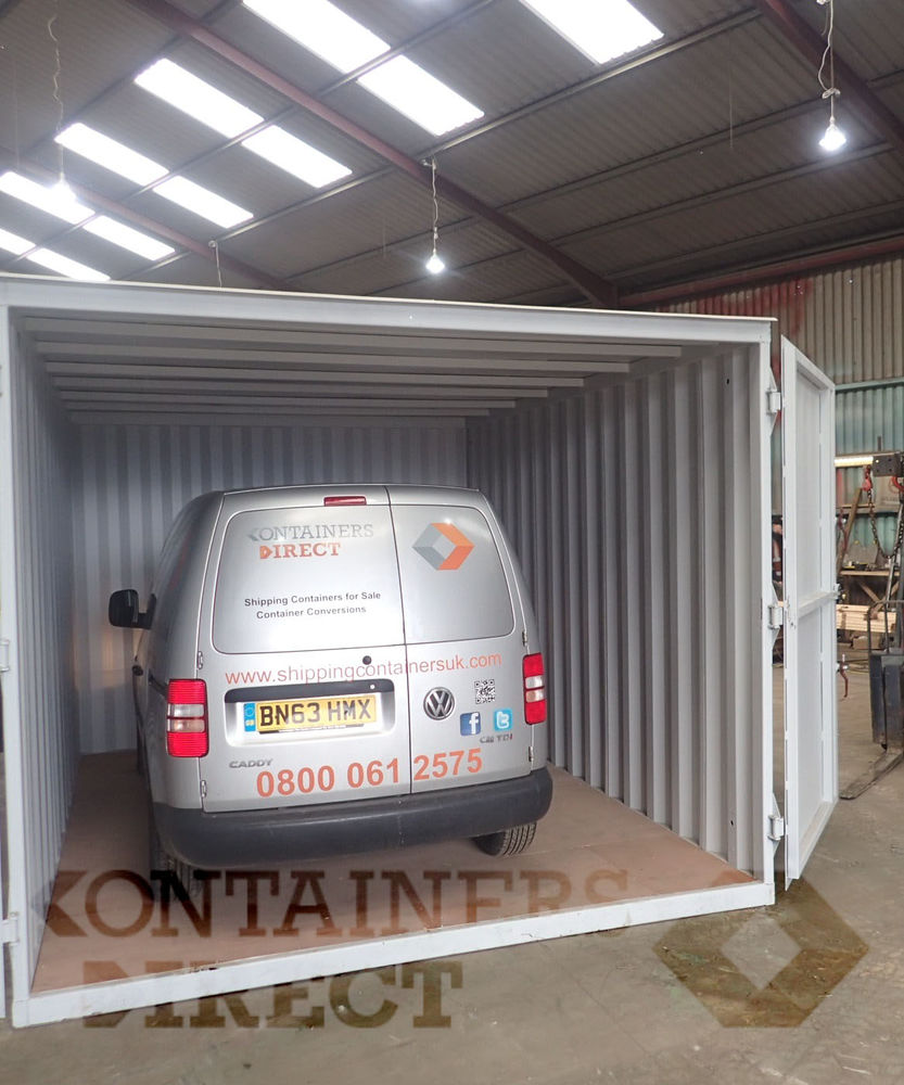 Custom Shipping Container Car Garage: SHIPPING CONTAINERS CarTainer 1510 London