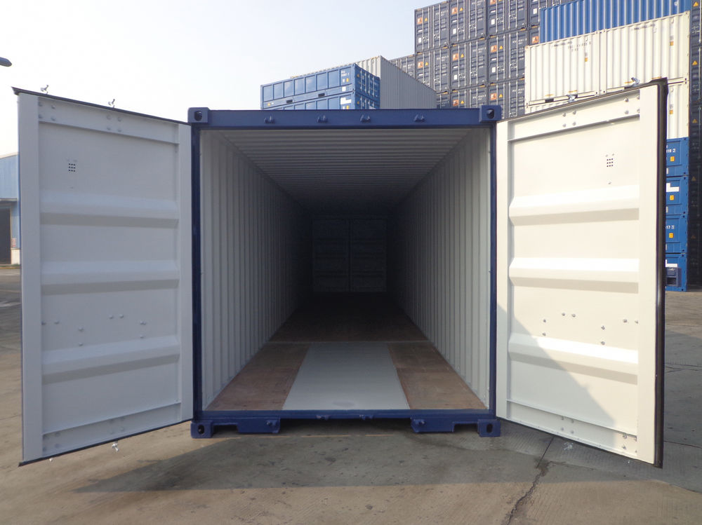 Shipping containers southampton 20ft tunnel tainer sc47 for Double opening front doors