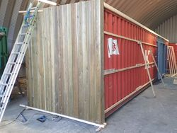 Container Conversion Case Studies 40ft Garden Centre Shop