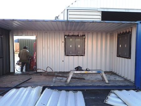 Container Conversion Case Studies 2 X 20ft Side Joined