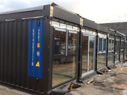 Shipping container conversions containers direct - How to convert a shipping container ...