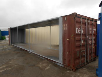 Larger conversions joining shipping containers together shipping container news brought - Shipping container end welding ...
