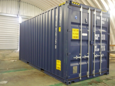 Our storage units why we use shipping containers Self Storage