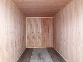 Ply Lined Shipping Containers