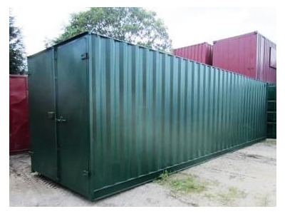 30ft Shipping Container - New 30ft Once-Used - S1 Doors