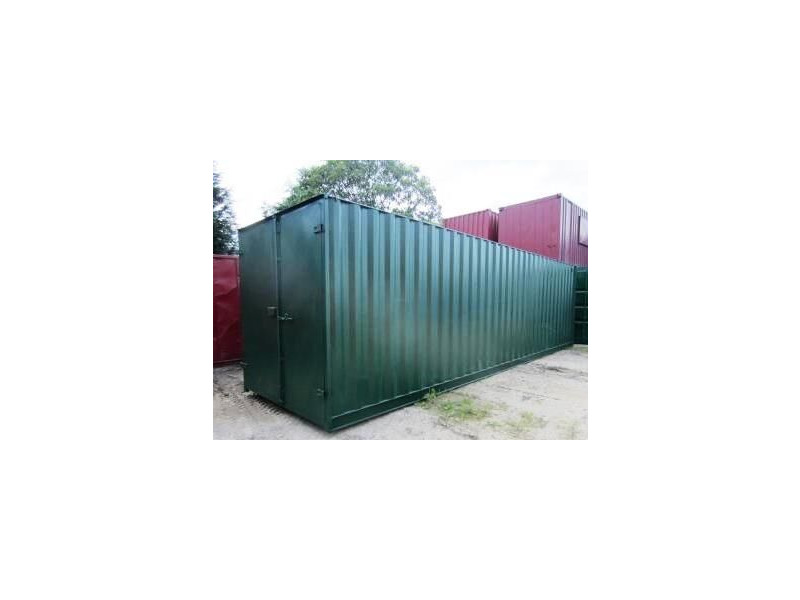 30ft Shipping Container - New 30ft Once-Used - S1 Doors click to zoom image