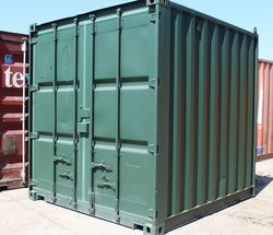 BUILDING 10ft CONTAINERS FOR STORAGE | Containers Direct