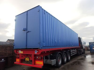 Second Hand 30ft Shipping Containers 30ft S1 Doors