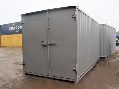 15ft Shipping Containers For Sale 15ft S1 doors