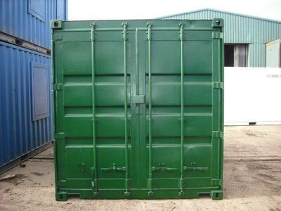 15ft Shipping Containers For Sale 15ft S2 doors click to zoom image