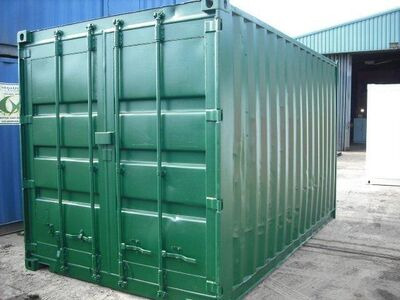 15ft Shipping Containers For Sale 15ft S2 doors