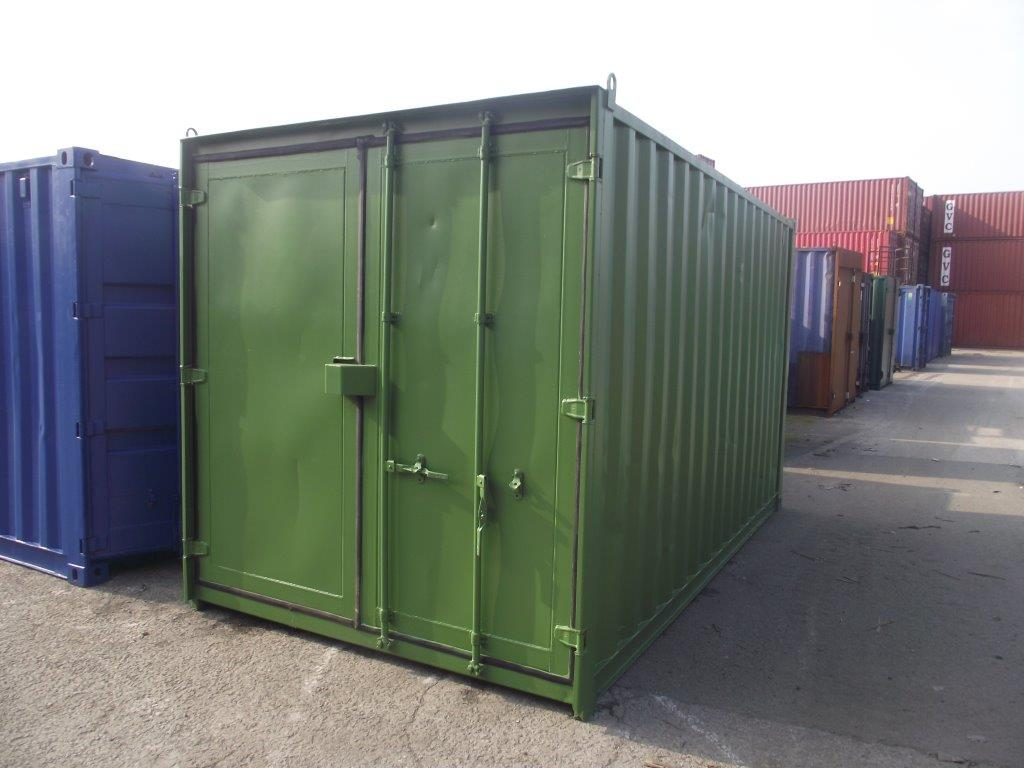 15ft Shipping Containers For Sale 15ft S3 doors   £1625.00 ...