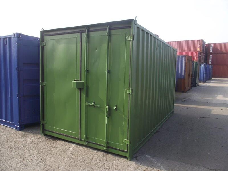 15ft Shipping Containers For Sale 15ft S3 doors click to zoom image