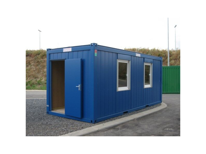 SELF ASSEMBLY SITE OFFICES 20ft CXO cabin office click to zoom image