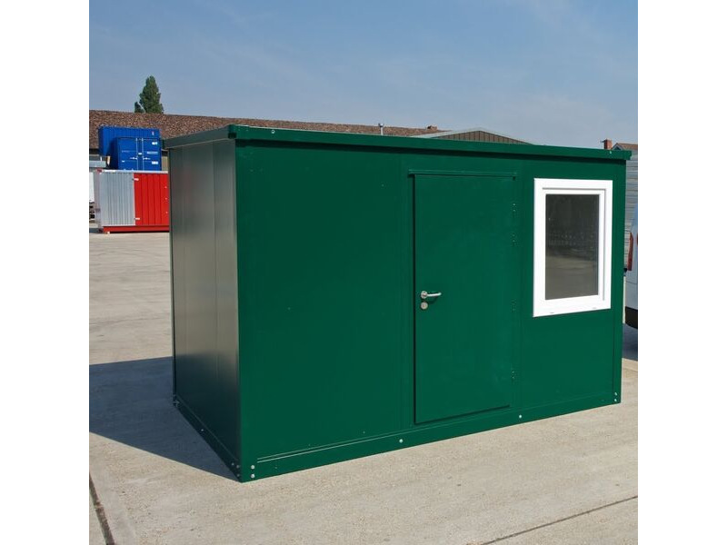 SELF ASSEMBLY SITE OFFICES 14ft / 4.3m x 2.3m click to zoom image