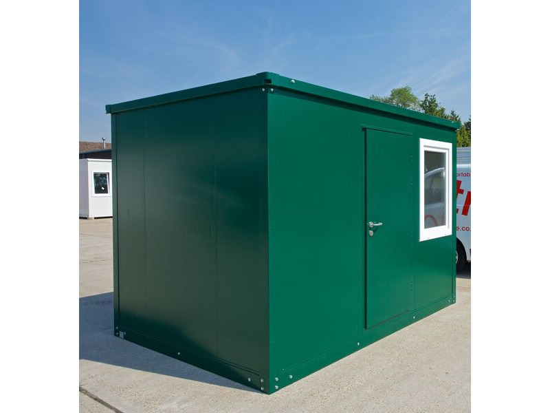 SELF ASSEMBLY SITE OFFICES 7ft6/ 2.3m x 2.3m click to zoom image