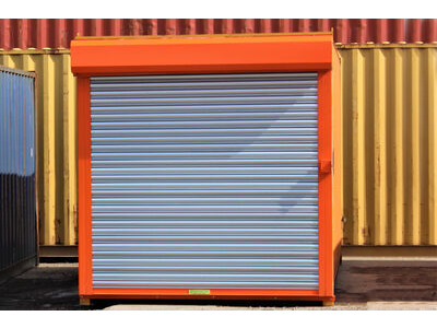 12ft Second Hand Shipping Containers 12ft Used Container - S4 Doors