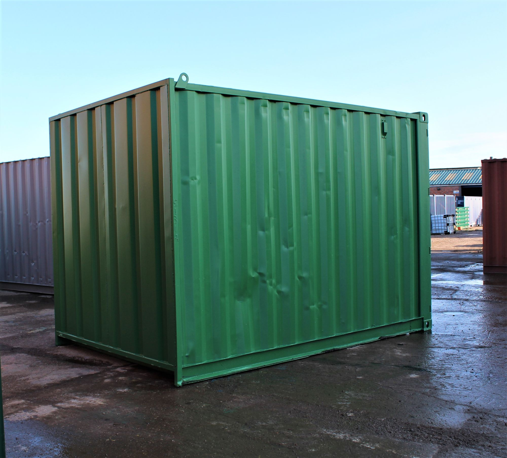 12ft Second Hand Shipping Containers 12ft Shipping ...