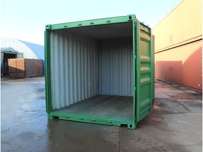 12ft Second Hand Shipping Containers 12ft Shipping Container - S2 Doors click to zoom image