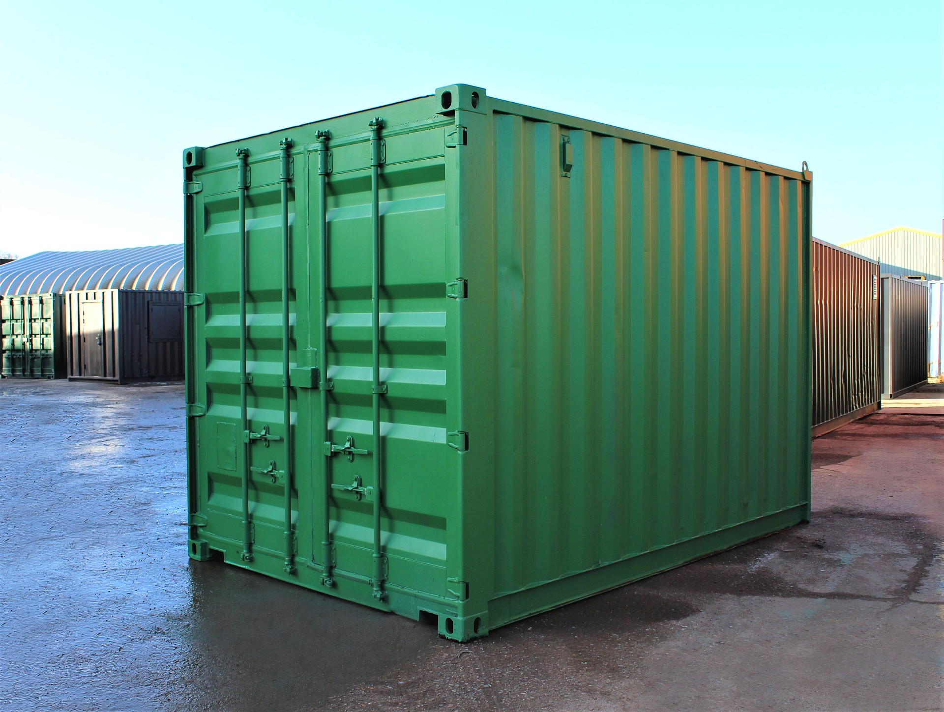 £1520.00+vat Storage Container 4m Collapsible Flatpacked Store
