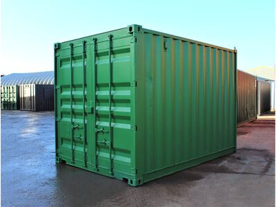12ft Second Hand Shipping Containers 12ft Shipping Container - S2 Doors