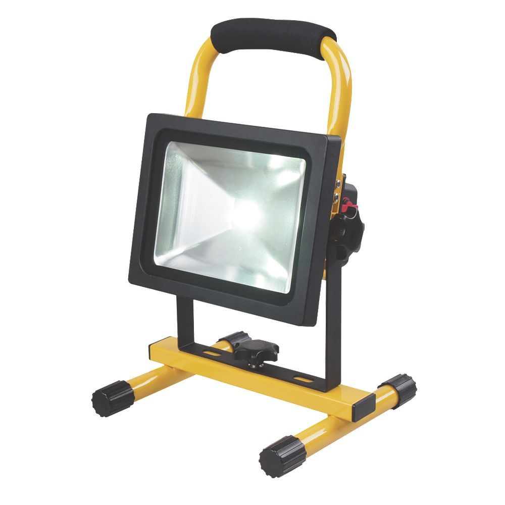 Work Light Rechargeable Led Garage Jobsite Plastic: STORAGE CONTAINERS Portable Lighting