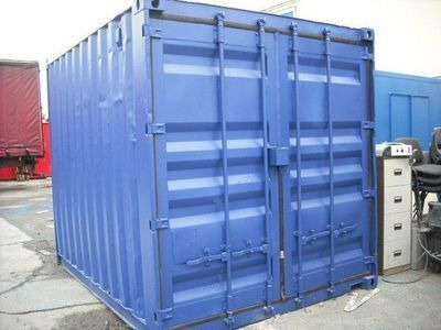 STORAGE CONTAINERS 10ft Shipping Container Newport