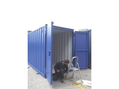 STORAGE CONTAINERS New build 7ft wide x 20ft long SLM720 click to zoom image