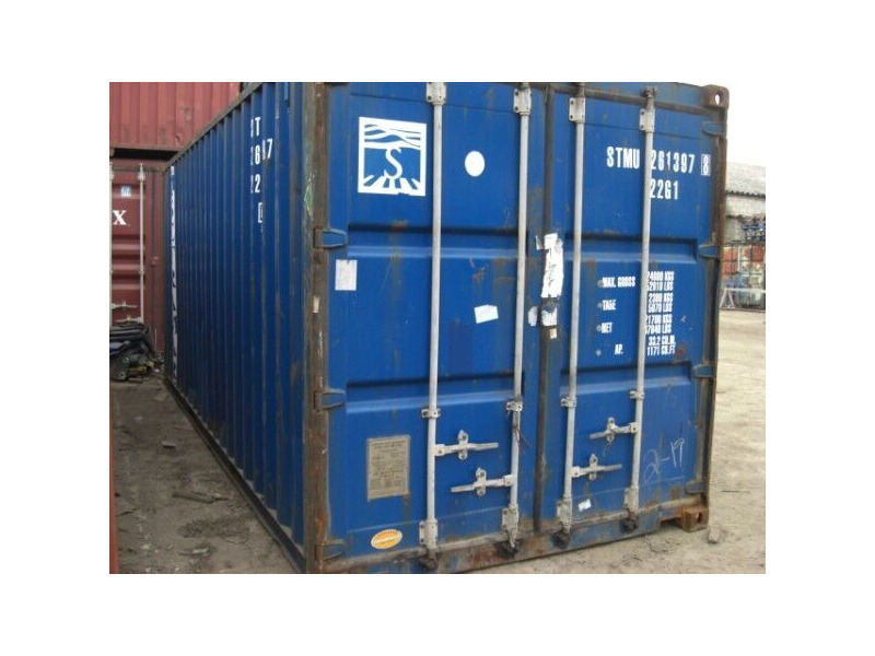 Storage Containers For Sale 20ft ply lined click to zoom image