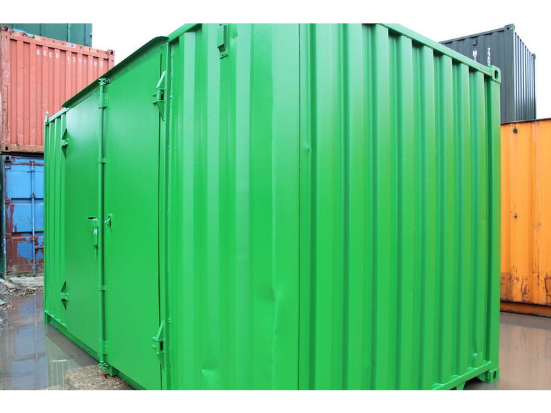 Storage Containers For Sale 16ft side door container click to zoom image