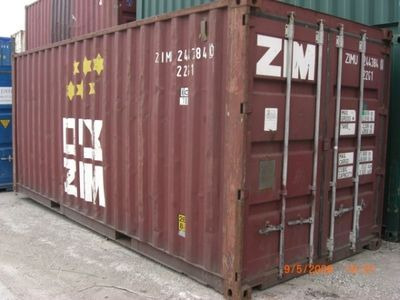 STORAGE CONTAINERS 20ft steel container Wales