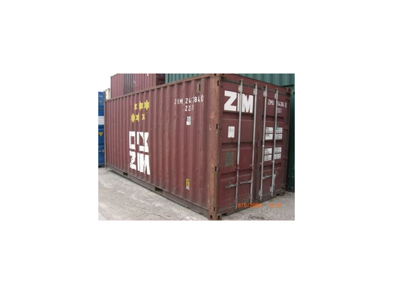 Storage Containers For Sale 20ft steel container Wales click to zoom image