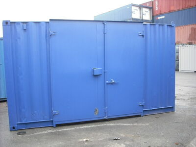 Storage Containers For Sale 16ft container side door SC3