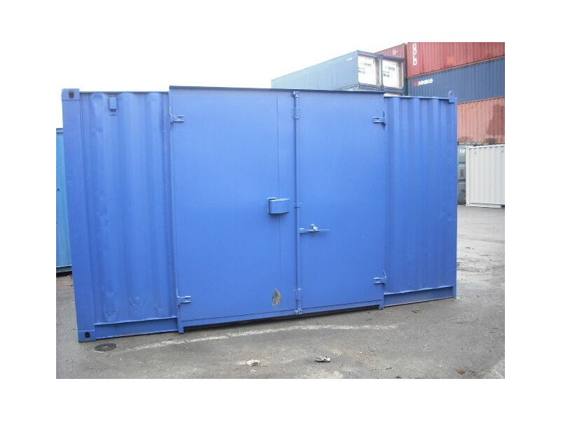 Storage Containers For Sale 16ft container side door SC3 click to zoom image