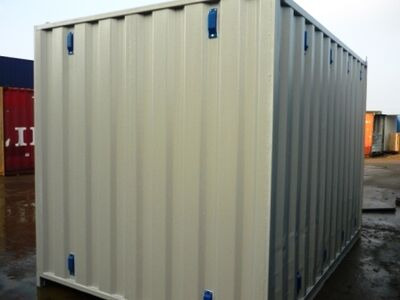 Storage Containers For Sale 10ft Extra ISO Vents click to zoom image