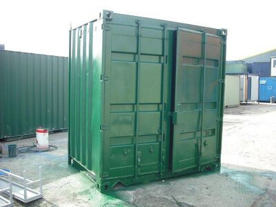 STORAGE CONTAINERS 5ft by 8ft Steel Newport 59853