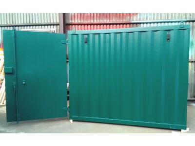 Storage Containers For Sale Slim width 12ft x 6ft 6in  storage container STC01