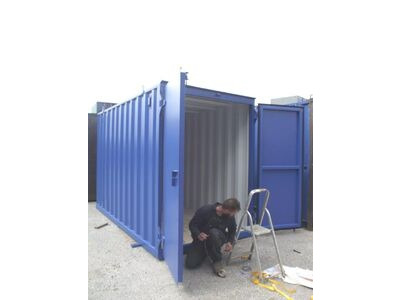 Storage Containers For Sale New build 6ft wide x 12ft long SLM612 click to zoom image