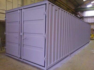 Storage Containers For Sale 10ft wide x 40ft long STC01040