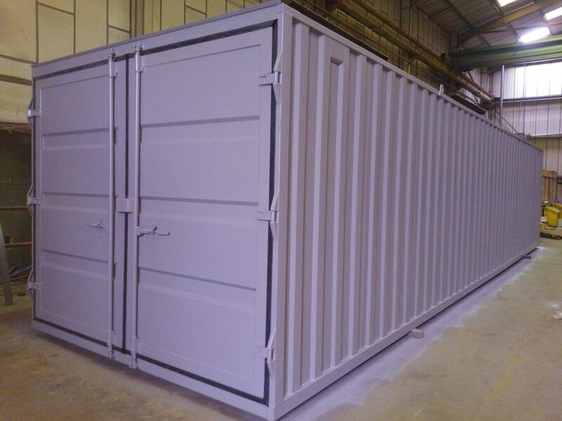 STORAGE CONTAINERS 10ft wide x 40ft long STC01040 click to zoom image