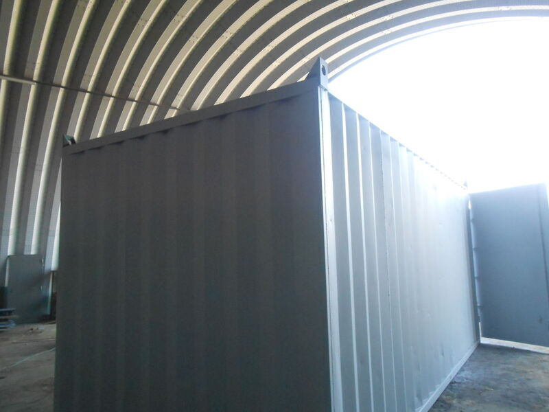 Storage Containers For Sale 10ft wide x 25ft long STC1025 click to zoom image