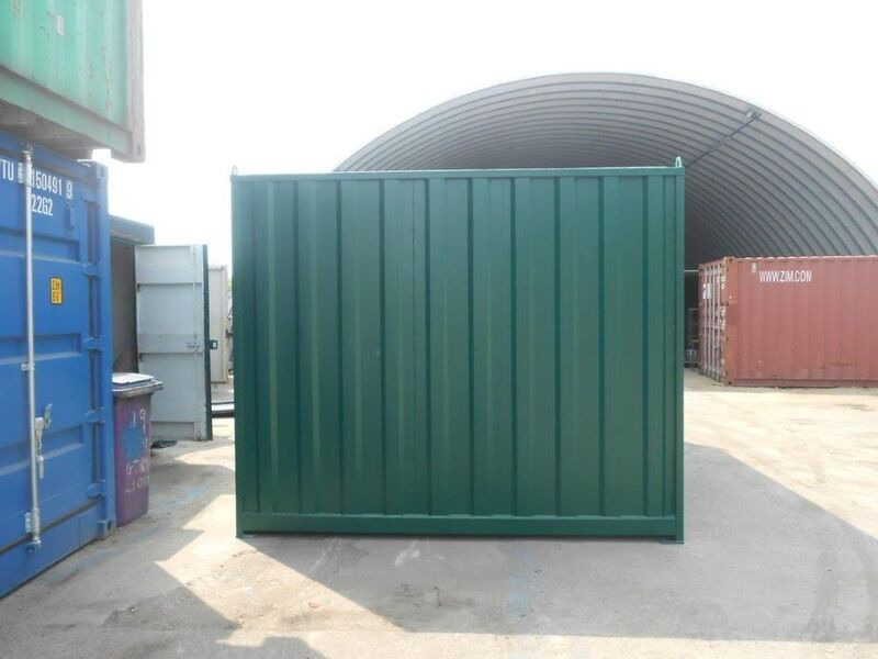 STORAGE CONTAINERS 10ft wide x 20ft long STC1020 Wales click to zoom image