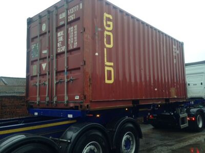 STORAGE CONTAINERS 20ft Liverpool