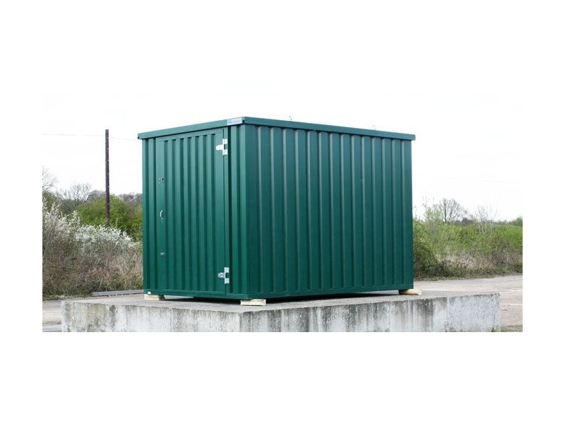 STORAGE CONTAINERS 4m self assembly green click to zoom image