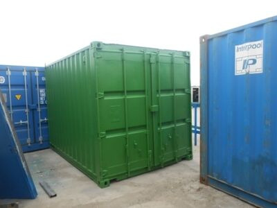 SHIPPING CONTAINERS 15ft original doors 59924