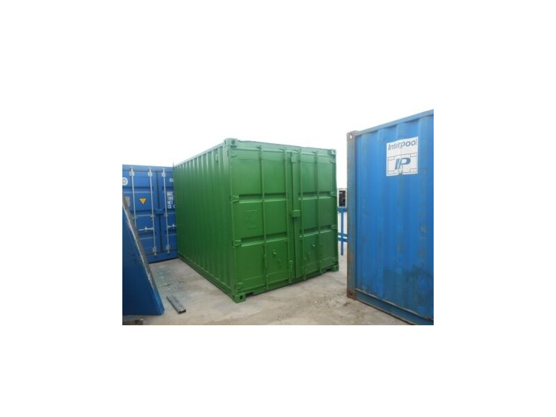 SHIPPING CONTAINERS 14ft original doors 37738 click to zoom image